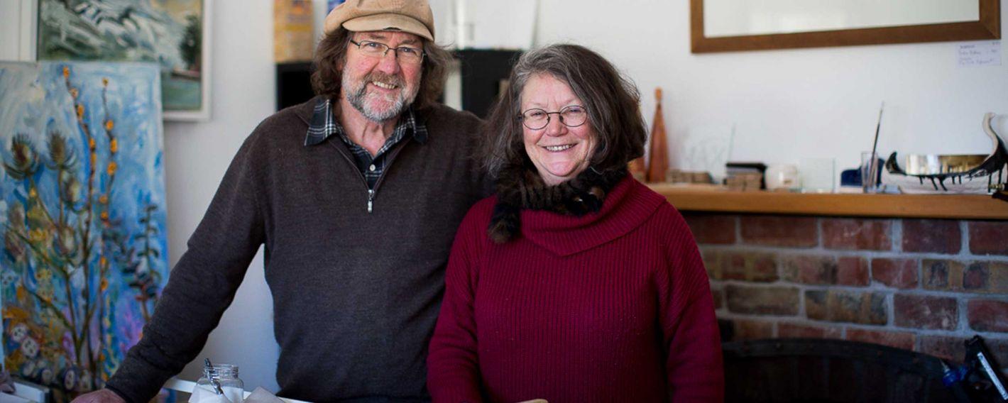 John and Pauline Bellamy