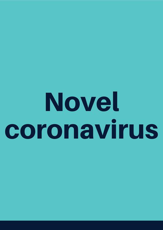 Novel coronavirus information