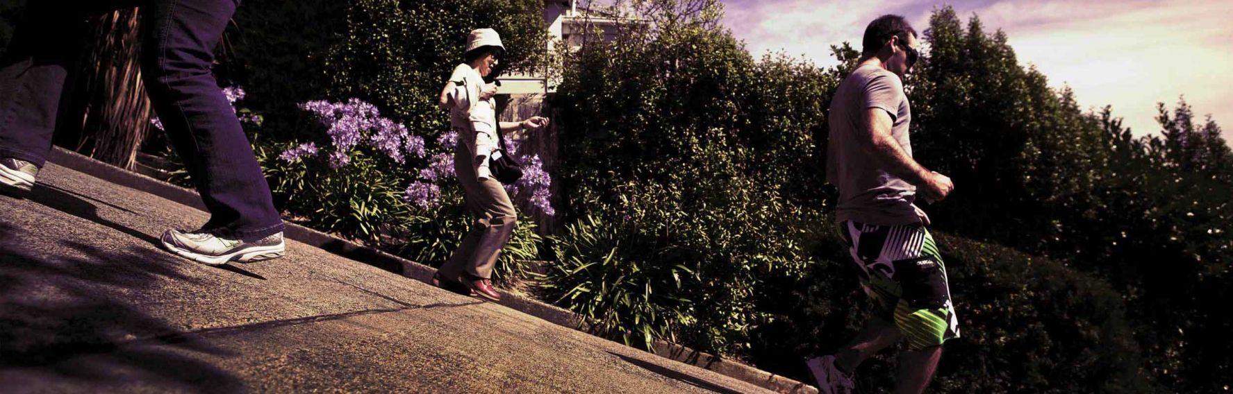 Baldwin Street - world's steepest